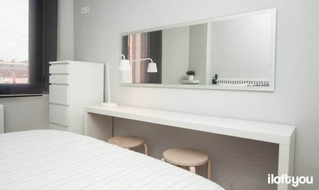 habitación estilo nórdico low cost