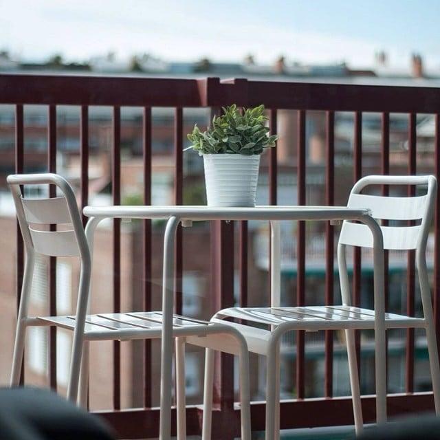 Mobiliario en la terraza del #proyectolescorts por @iloftyou