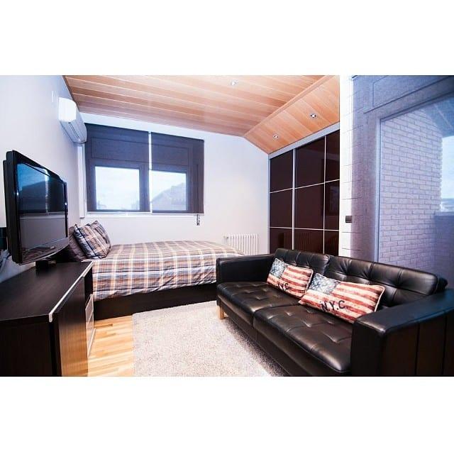 Dormitorio juvenil masculino en el #proyectoviladecans por @iloftyou