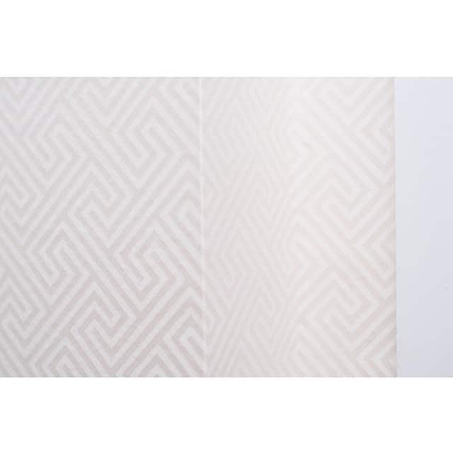 Hoy os muestro los maravillosos papeles de pared que utilizamos en el #proyectobonanova por @iloftyou. En #geometría #beige para el recibidor... #papelesAribau #barcelona #wallpaper #papelpared @trestintasbcn @lookerphotography #interiorismo #interiordesign #lowcost