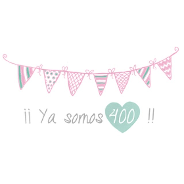 Bienvenidos y bienvenidas!!  #400 #followers #instagram