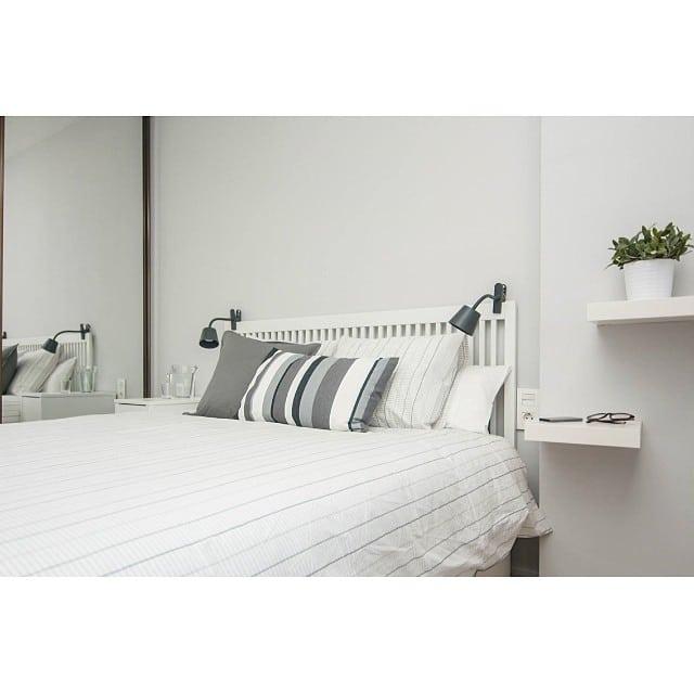Dormitorio principal del #proyectolescorts por @iloftyou