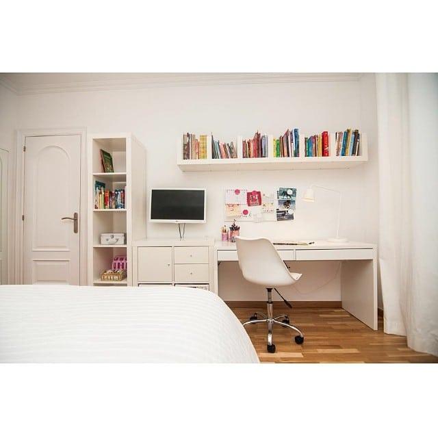 Otra vista del dormitorio juvenil del #proyectoviladecans por @iloftyou