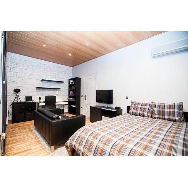 Otra vista del dormitorio juvenil masculino del #proyectoviladecans por @iloftyou