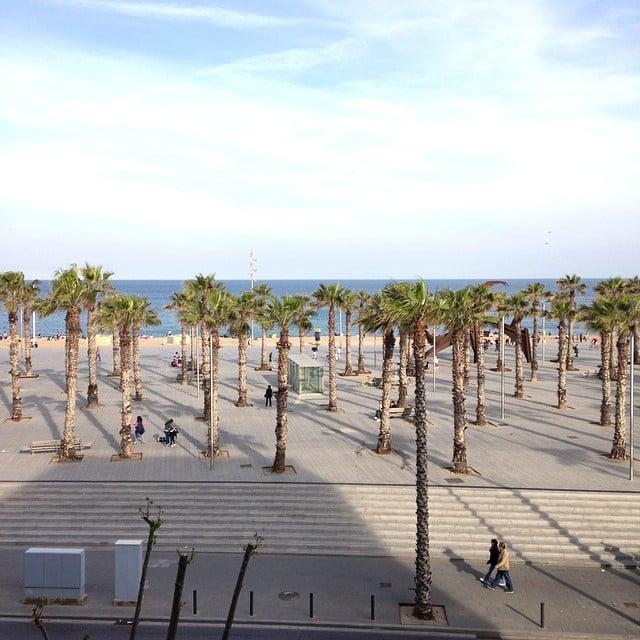 Y con estas vistas... ¡Damos la bienvenida al #proyectoBarceloneta!