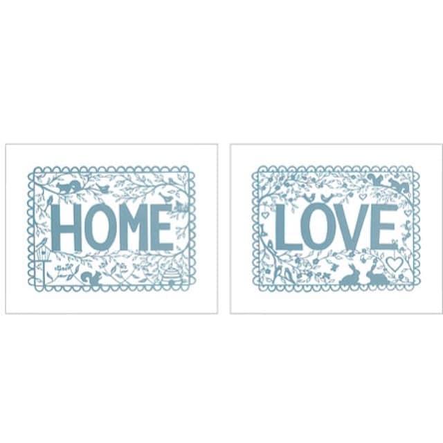 Hoy hemos colocado estas láminas tan dulces en el comedor del #proyectolescorts dentro de dos marcos #ribba blancos! #tvilling #ikea