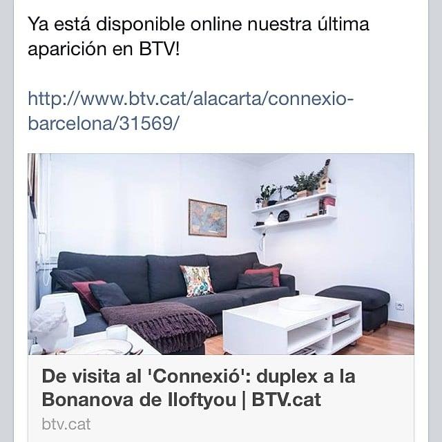 Disponible online nuestra última aparición en el programa #connexiobarcelona #Btv