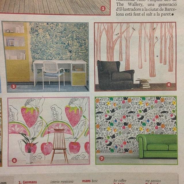 Hoy, si abrís La Vanguardia por las páginas rosas veréis un artículo sobre @thewallery!! Y nuestro vinilo del #proyectoplaton como uno de los destacados!