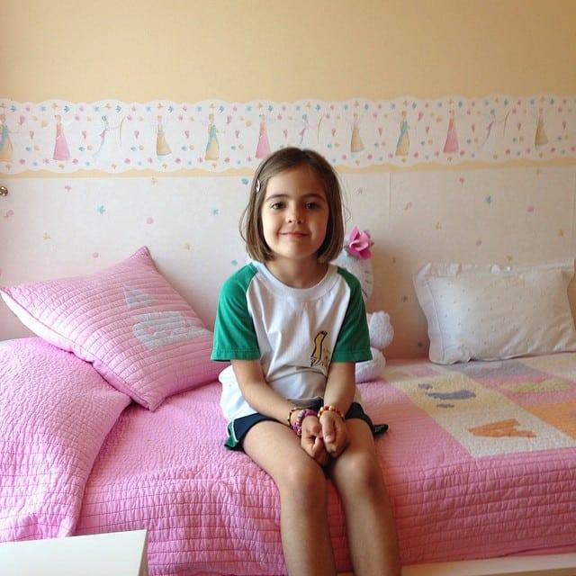 Dormitorio infantil terminado y Julia feliz! Así da gusto ️ #proyectogirona #ikea #lowcost #interiorismo #interiordesign