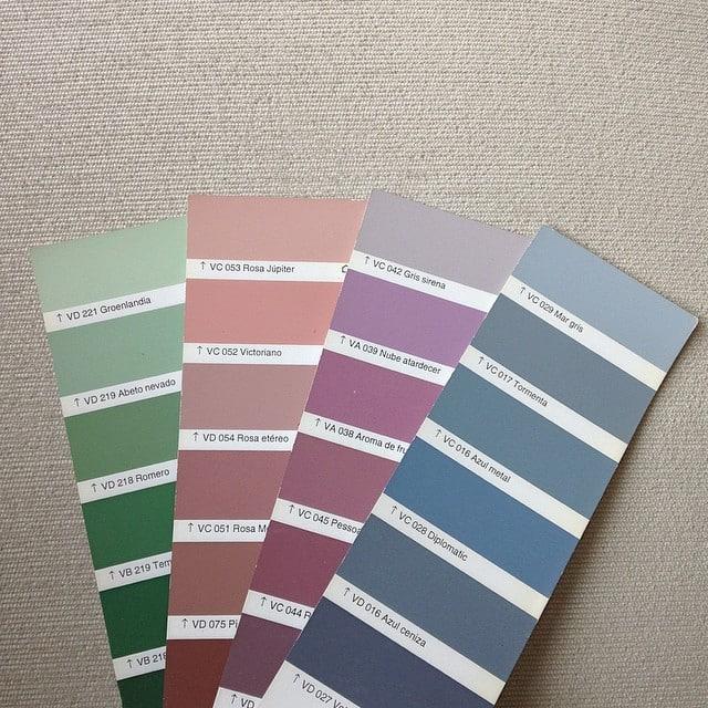 Definiendo el código de colores para nuestro nuevo encargo: un piso destinado a despacho co-working!