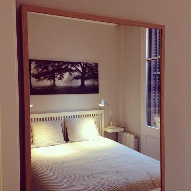 Y así de mono ha quedado el dormitorio principal del #proyectoindustria ️ @iloftyou #interiorismo #interiordesign #ikea #lowcost #bedroom #bardu #tral #nyponros #stave