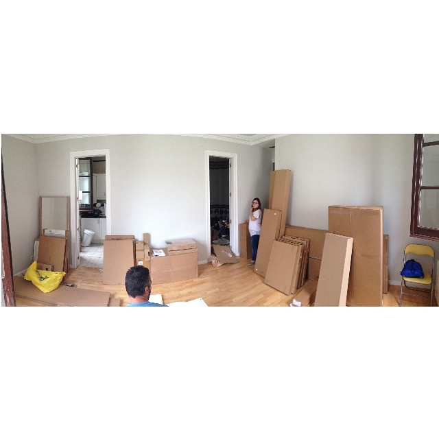 3,2,1... A MONTAR! #proyectoindustria #ikea #lowcost #interiorismo #interiordesign #newproject