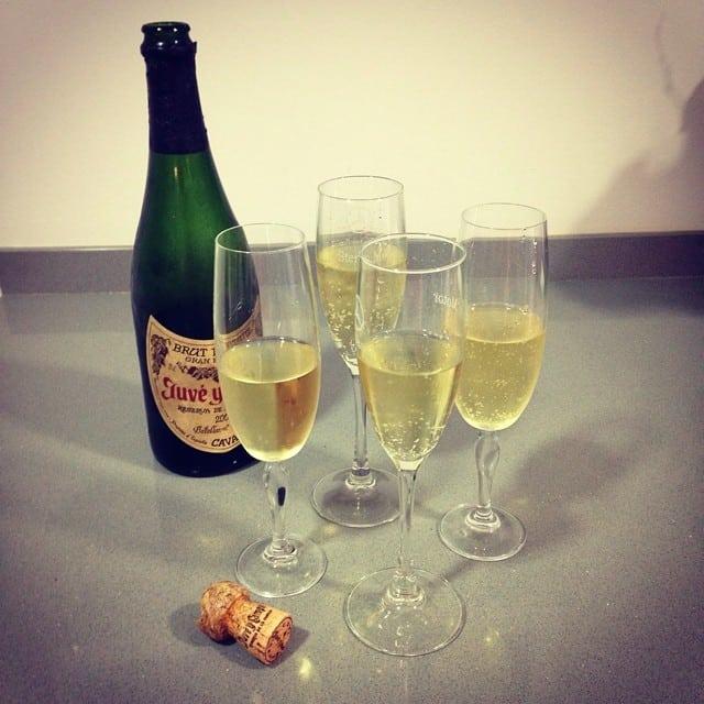 ¡Celebrando el final del proyecto #cocinasantcugat con una clienta fantástica! ¡Así da gusto trabajar!