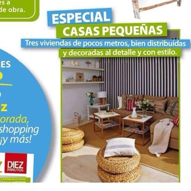 !!SORPRESA!! La revista #casadiez va a publicar un reportaje sobre nuestro #proyectositges en el número de Agosto!!