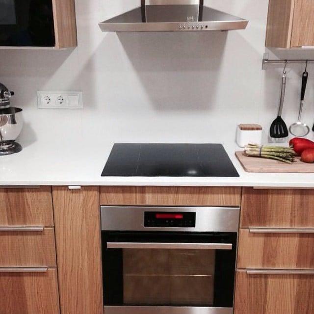 ¡Pero qué bonita ha quedado la #cocinalagarriga! Mañana os mostraremos las fotos profesionales... ¡Atentos!#ikea #kitchen #interiorismo #interiordesign #cocina @iloftyou @lookerphotography