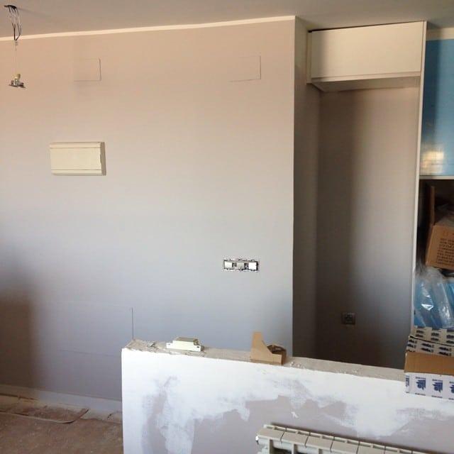 Ya tenemos el color definitivo para las paredes de la #cocinasantcugat. ¡El viernes terminamos!