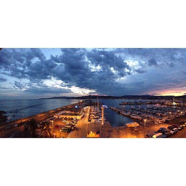 Bona nit! ️ #sunset #palamos #emporda #costabrava #clubnautic #casa