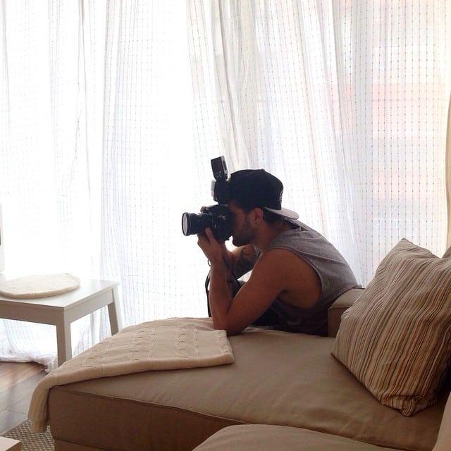 Realizando la sesión de fotos profesional con @lookerphotography!  #proyectoViaAugusta